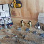rekey locks on site